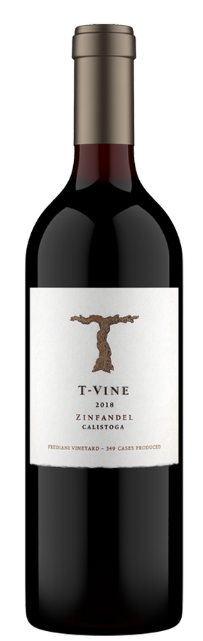 2018 Frediani Zinfandel – Calistoga, Napa Valley