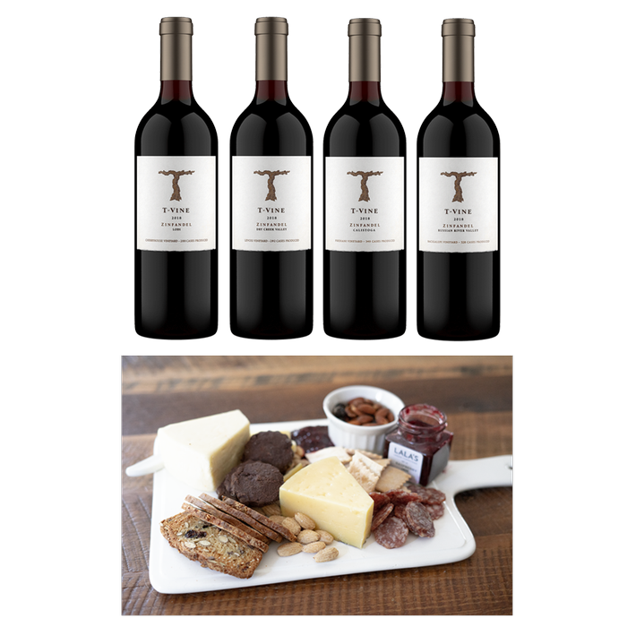 Virtual Tasting Zinfandel Lineup with Nosh Box